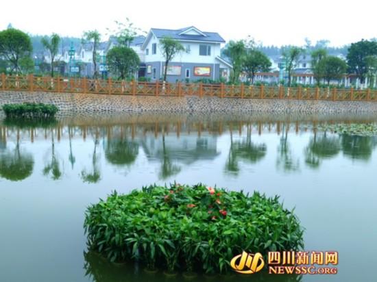 广安玉屏湖新村 打造乡村旅游新高地