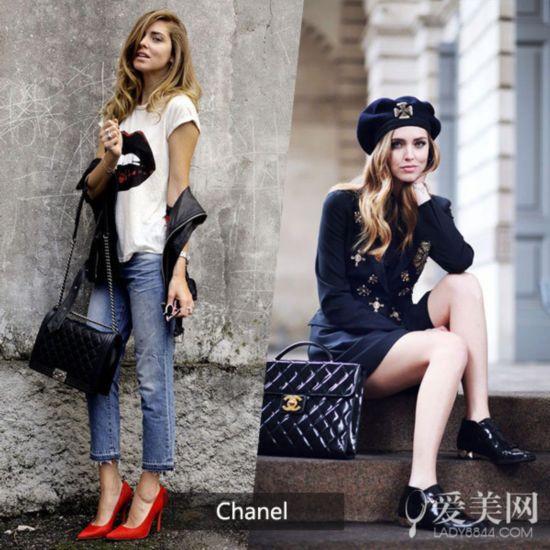 时尚博主们的奢华日常 大牌包包换不停