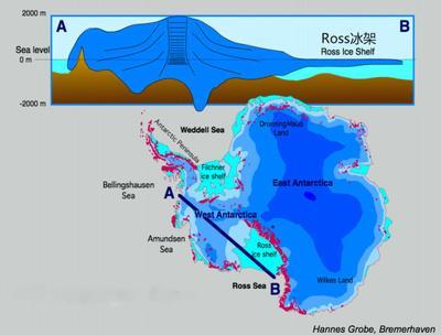 南极最稳定区域开始融化 过去6年间速率加倍