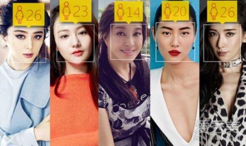 劉曉慶妝后才14!女星年齡測試顏值逆天