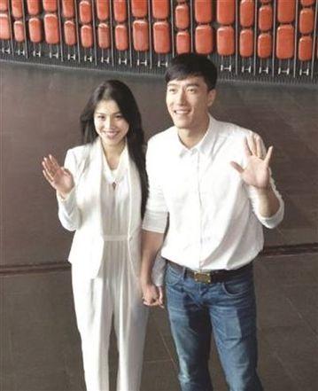 刘翔与妻子葛天