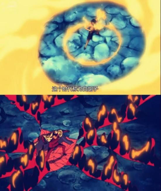 海贼王漫画 明哥生死之谜 萨博必杀赤犬为艾斯报仇