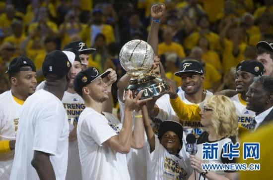 NBA季后赛:勇士vs火箭4比1夺得西部冠军(比赛