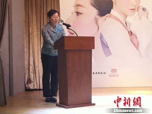 《李英爱的晚餐》简体中文版首发李英爱录视频致贺