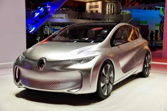 雷诺将量产插电式混动概念车Eolab