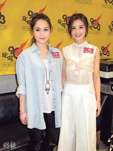 阿Sa与陈伟霆每日联络称二人未有结婚打算(图)