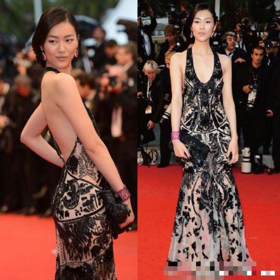 2012电影65届戛纳电影节上的刘雯较色的外国年第图片