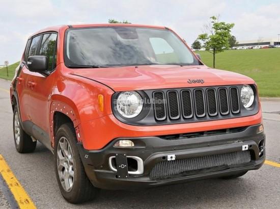 jeepsuv车型_jeep c suv车型谍照曝光 将2016年发布
