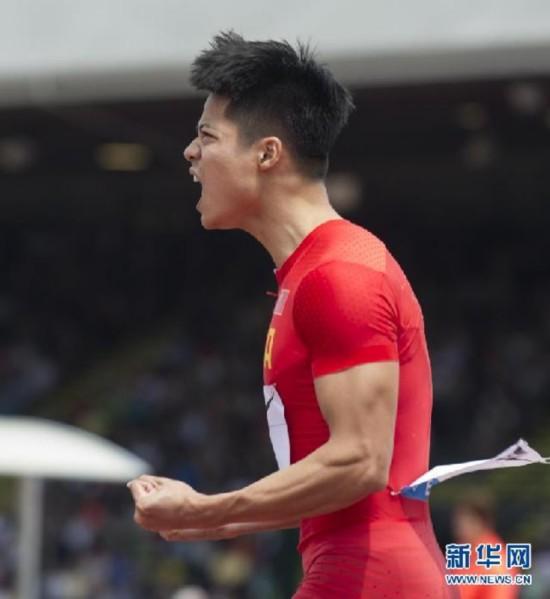 (体育)(6)田径――苏炳添打破男子百米全国纪录