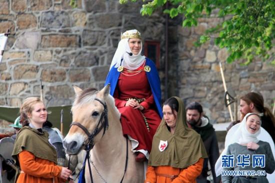 挪威首都奥斯陆举办中世纪节--内蒙古频道--人民网