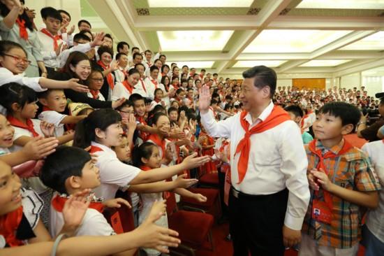 习近平寄语全国各族少年儿童:美好的生活属于你们美丽的中国梦属于你们