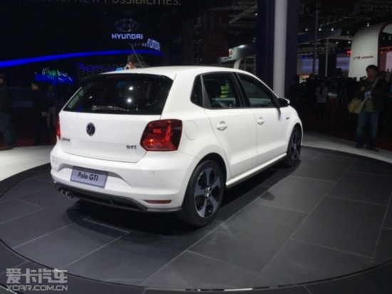 上海大众新POLO GTI上海车展正式发布