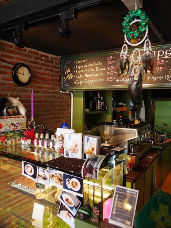 世界首家巫术咖啡馆在泰国曼谷开业