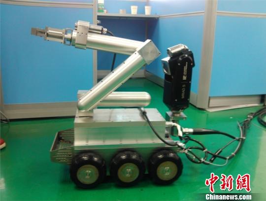 中国研发成功六款核反应堆专用机器人部分开始应用