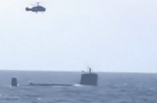 北海舰队举行远海训练 多型战机与水面舰艇协同作战