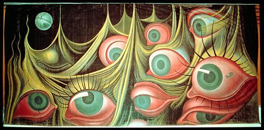 达利近300件作品展出巨幅油画《意乱神迷》亮相