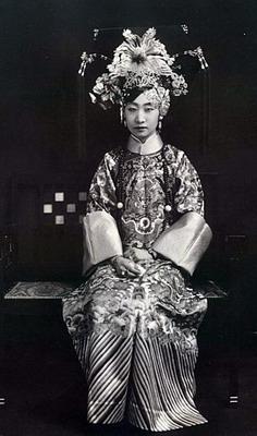 揭古代妃子阿哥真实照 样貌丑气质差引吐槽图片