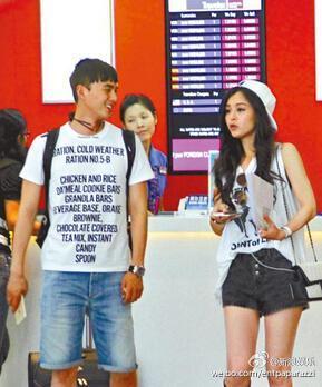 蒋欣前男友叶祖新被爆搭上文咏珊 否认恋情
