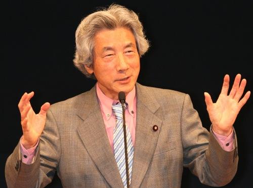 日本前首相小泉纯一郎痛批安倍政府核电政策