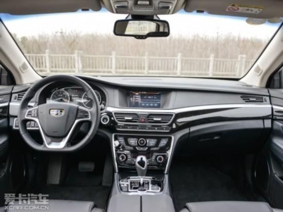 吉利汽车2015款博瑞GC9