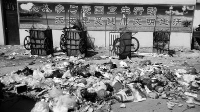 走访:海口垃圾肆虐 随意丢弃垃圾较为严重