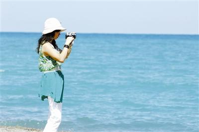 青海流淌的蓝