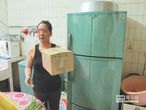 妇人外遇流产无钱安葬胎尸放冰箱2个月(图)