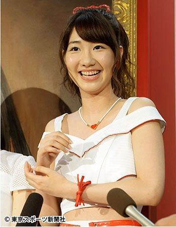 AKB48总选举白热化 柏木由纪志在夺冠自信满满