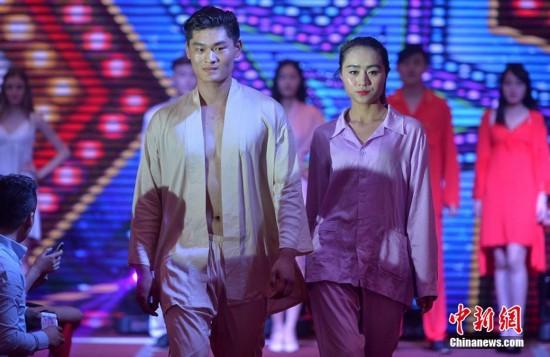 重庆上演时尚内衣秀眼球模特夺人性感--人民网南通520情趣酒店主题怎么样图片