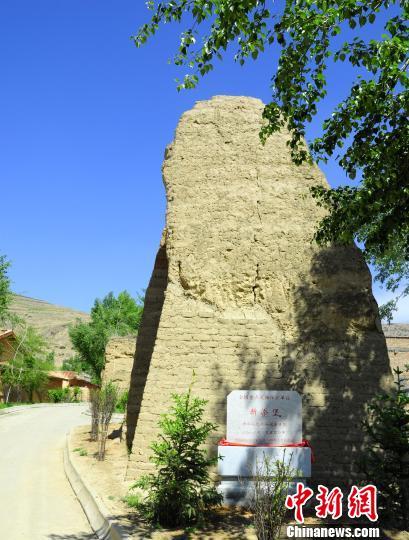 青海海东市500年古城堡重焕生机