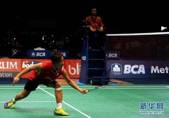 (体育)(1)羽毛球――印尼公开赛:桃田贤斗晋级男单决赛