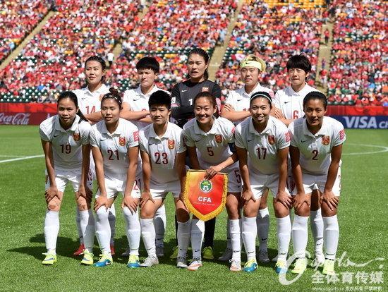 2015女足世界杯 中国队惜败加拿大
