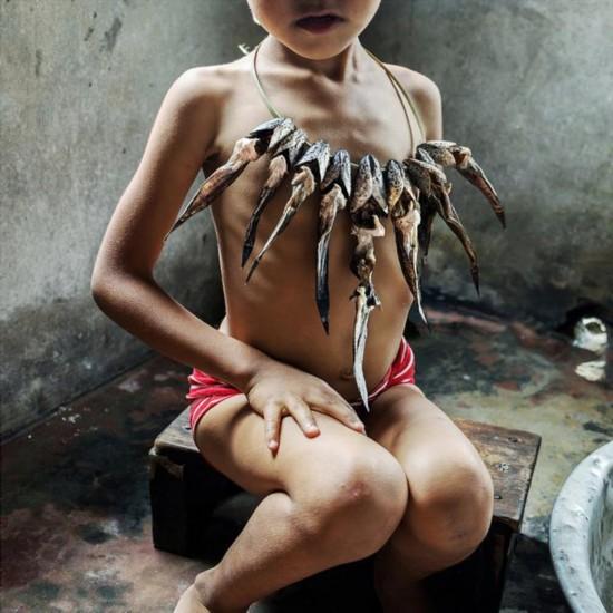 探秘印度母系氏族部落:生男孩被认为不吉利(图)