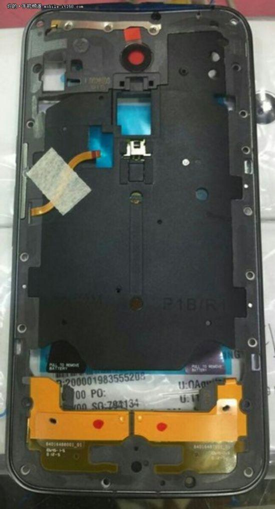 指纹识别 Moto X三代中框曝谍照