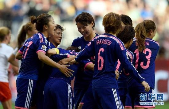 (女足世界杯)(1)足球――C组:日本胜瑞士