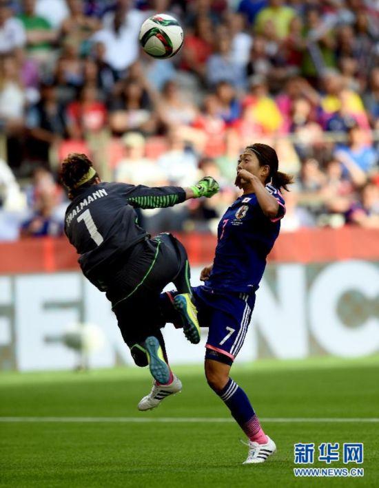 (女足世界杯)(4)足球――C组:日本胜瑞士