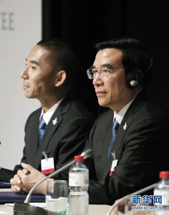 (冬奥会)(4)北京2022申冬奥代表团与国际奥委会委员举行陈述交流会