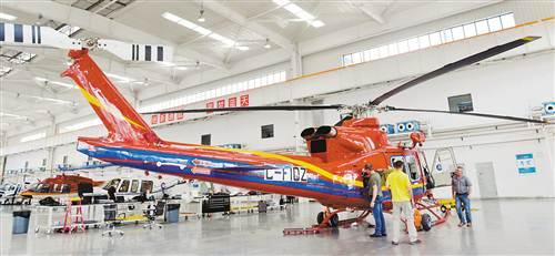 贝尔412直升机抵渝