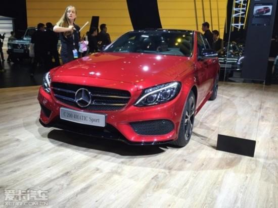 国产奔驰C标准轴距版 上海车展正式发布