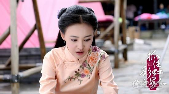 《抓住彩虹的男人》郑爽扮相美翻 民国剧美女