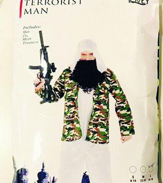 澳一夜色品味恐怖分子漫画遭套装举报(图)民众商店出售图片