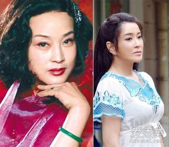 刘晓庆装嫩20年 整容前后照片露破绽 图