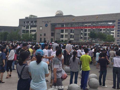 安徽芜湖1063名考生参加英语听力重考 137名考生放弃
