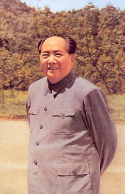 1965年5月,毛澤東重上井岡山。
