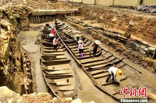 广州公布2014年考古五大发现