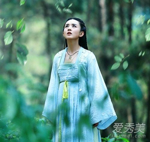 《花千骨》开播 赵丽颖古装造型唯美飘逸