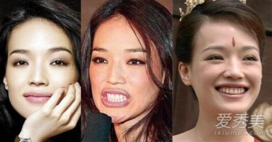 大S舒淇王珞丹 9位女星颜值不够却演美女