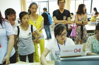 甘肃三所高校承担非选择题评卷 成绩6月23日公