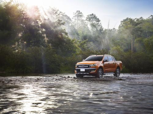 福特发布全新Ranger Wildtrak皮卡