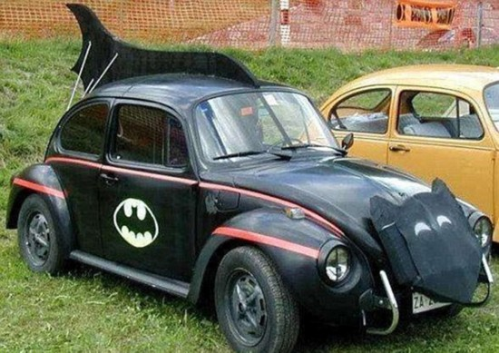 千奇百怪的改装车:另类创意引人爆笑
